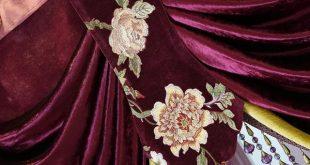 Шторы Helen curtain новый роскошный занавес s для гостиной в европейском стиле, с вышивкой занавес s для спальни красная роза занавес s valance HC57