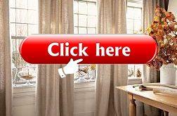 BURLAP CURTAIN PANELS - Colors, Valances, Window Curtain, French Door Panels, Custom Lengths, Unlined, Natural Burlap, Farmhouse Curtains