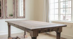 √ 35 Best DIY Farmhouse Table Plans for Your Dining Room