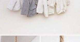 Regal Kleiderstange für Babysachen im Kinderzimmer Just Like Hannah