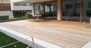 Holzterrasse aus Lärchenholz in Konstanz