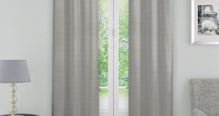 Andover Solid Blackout Thermal Grommet Single Curtain Panel