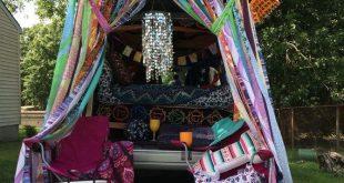 Hippie Vorhänge Boho Vorhang Junk Gypsy Teen Zimmer-Schlafsaal-Hippie-Glamping ...