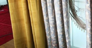 15+ Incomparable Colored Drop Cloth Curtains Ideas