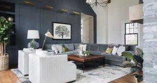 34 Brilliant Black Living Room Ideas