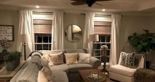 55+ Comfy Modern Farmhouse Living Room Decor Ideas