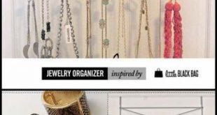 69+ Trendy Jewerly Organizer Diy Easy Shower Curtains
