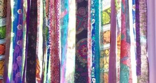 Hippie Curtains Boho Curtains Junk Gypsy Teen Room-Dorm-Hippy-Glamping Wedding Sequin Door Hanging Mandala Tapestry Rag Garland Backdrop