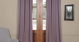 Jarimannos Solid Blackout Thermal Rod Pocket Curtain Panels