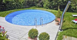 Rundpool Pool selber bauen Pool Ideen zum Schwimmen und Entspannen #badelaune #p...