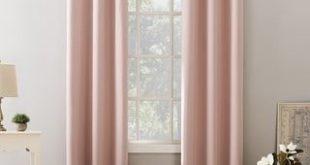 Sun Zero Kids Bedroom Blackout Grommet Curtain Panel (40 x 95 - Pink)(Polyester, Solid)